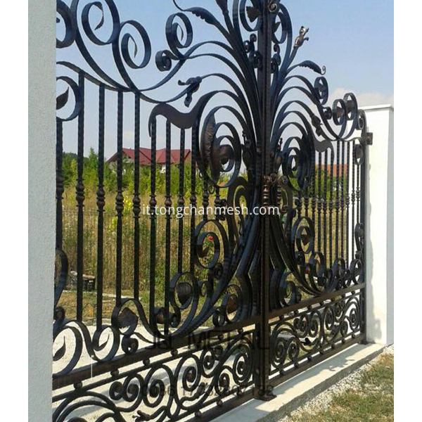 art metal fencing