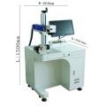 factory supply Portable 50W Auto Focus Batch Number Fiber Laser Labeling Machine
