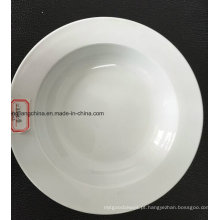 Placa de sopa plana de 12 '