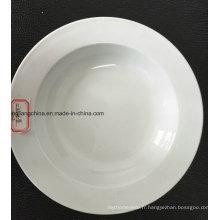 Plat à soupe plat 12 '