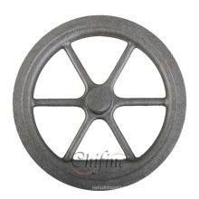 Rodas de ferro fundido de alta qualidade personalizadas