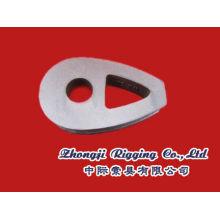 DIN3091 dúctil hierro maleable cable resistente dedal