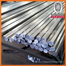 Barres hexagonales en acier inoxydable de 304 316 L