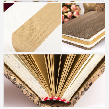 Eco Friendly Cork Wood Cover Diary Notebook
