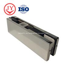 Ajuste de parche de aluminio para puerta de vidrio