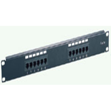 panel de parcheo de Cat6A utp oro chapado