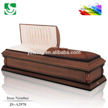 Customized American style antique casket manufacturer