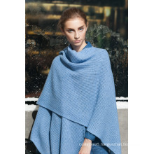 women fur lined shawl made in China