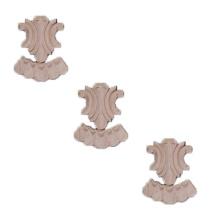 Hand-carved Ornamental Hardwood Applique