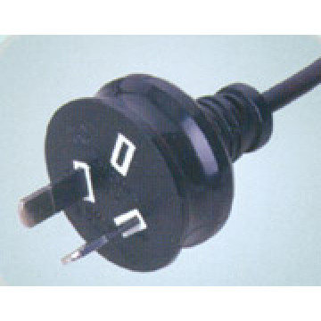Australian SAA Standard 2 Pin Power Lead Plug