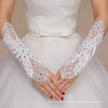 Aoliweiya Hochzeit Zubehör Lange Bridal Handschuh