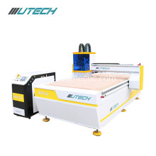 Multifunction cnc router especially for felt cloth cutting