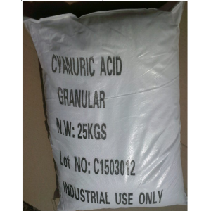 Cyanuric acid with CAS:108-80-5 as swimming pool chemicals