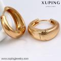 26933-Xuping Jewelry Fashion 18K boucle d'oreille plaqué or avec prix de promotion