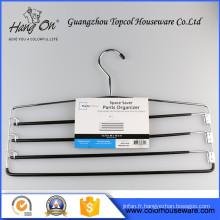 Cintres classique fil noir métal, métal spécial fil Hanger