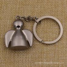 Customized Shape Bird Metal Key Chain on Sale (KQ-17)