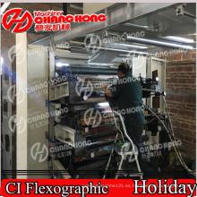 Tres capas de la máquina de impresión de la película / máquina de impresión de la película del laminador
