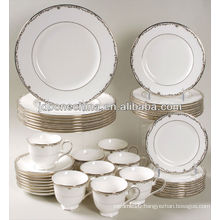 new arrivals durable unique design fashionable fine bone china dinner plate