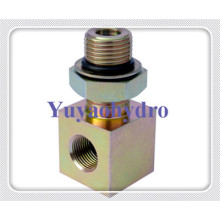 Elbow Female Male Adjust Nut Connector with SAE Tube Fittings