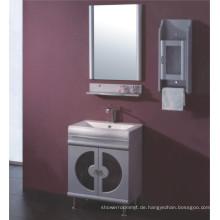 Glas PVC Badezimmerschrank Möbel (B-515)