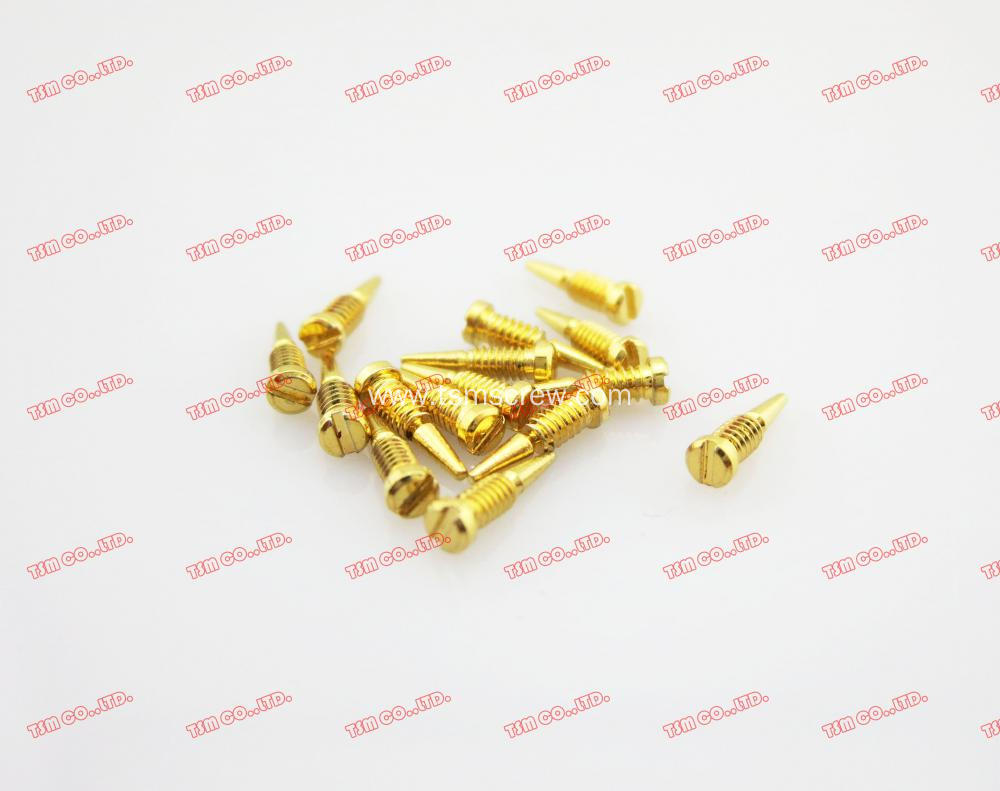 Gold Stainless Steel Self Align Screw