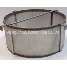 Stainless Steel Wire Mesh Bucket Homebrew