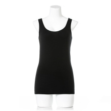 OEM private label women organic cotton sleeveless underwear