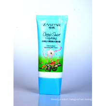 Cosmetic Packaging Plastic Oval Tube with Lid