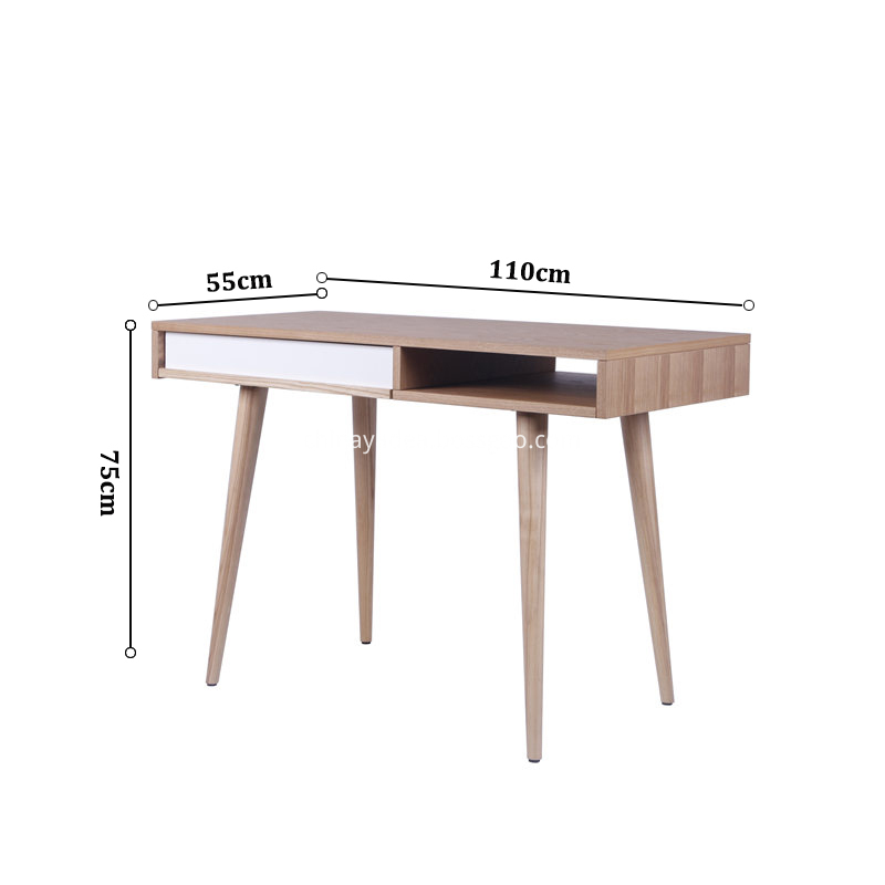 Size of Wood Celine Desk