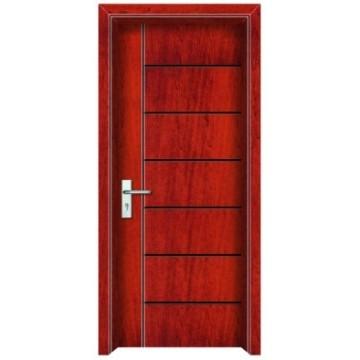 porta de madeira de núcleo sólido de semi