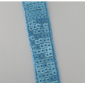 custom exquisite high quality sequin trim decoration ribbon with sequin