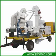 usine mobile de traitement des semences de maïs