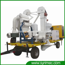 mobile wheat maize seed processing plant