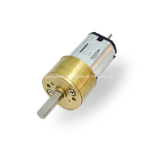 N20 14mm moteur à réducteur à double arbre à courant continu