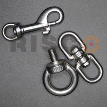 316 Stainless Steel Clip Swivel Shackle Rigging