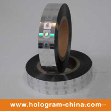 Estampado en caliente de holograma láser personalizado de seguridad