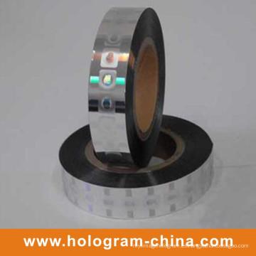 Estampado en caliente de alta calidad del holograma de seguridad de la calidad