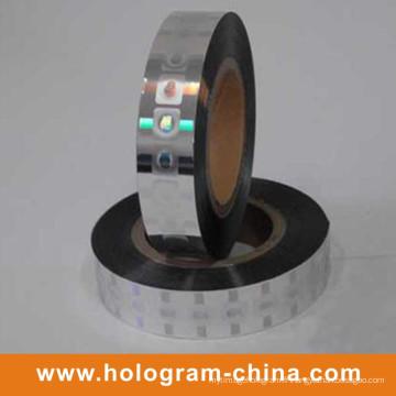 Feuille d'estampage à chaud en hologramme 2D 3D personnalisée