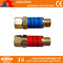 CNC Cutter Used Flashback Arrestor Flame, Flashback Arrester with Acetylene