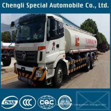 Futian 6 X 4 18000liters Oil Tanker Truck