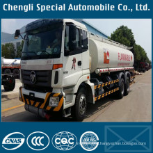 Futian 6X4 18000liters Oil Tanker Truck