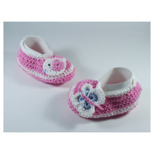 Crochet Baby shoes Ballet Flats Baby shoes Custom