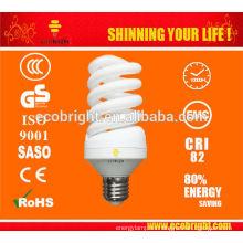 T2 15w ahorro de lastre de la lámpara espiral