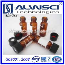 Agilent ND8 Amber Vial with label