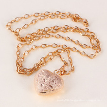 Heart Rose Gold Necklace for Lover