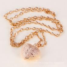 Серьги розового золота ожерелье для любовника