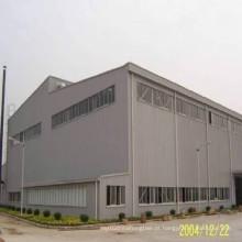 Construção de aço estrutural para oficina e armazém