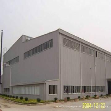 Construcción de acero estructural para taller y almacén