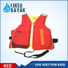 2016 Новый детский безопасности Толстые ПВХ жизни куртки Водные виды спорта жилет Детские спасательные жилеты