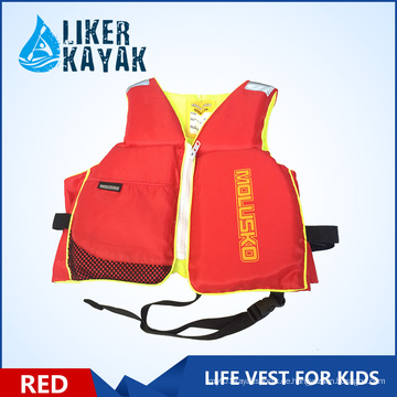 2016 Neue Kindersicherheit Thick PVC Life Jacket Wassersport Weste Kids Life Vest